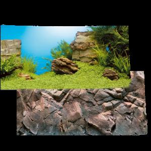 Poster double face decorazione  sfondo acquario JUWEL POSTER 1 100x50.